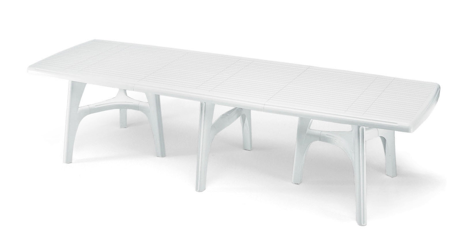 Tavolo resina president 3000 lamacchia mobili da giardino for Mobili da giardino in resina