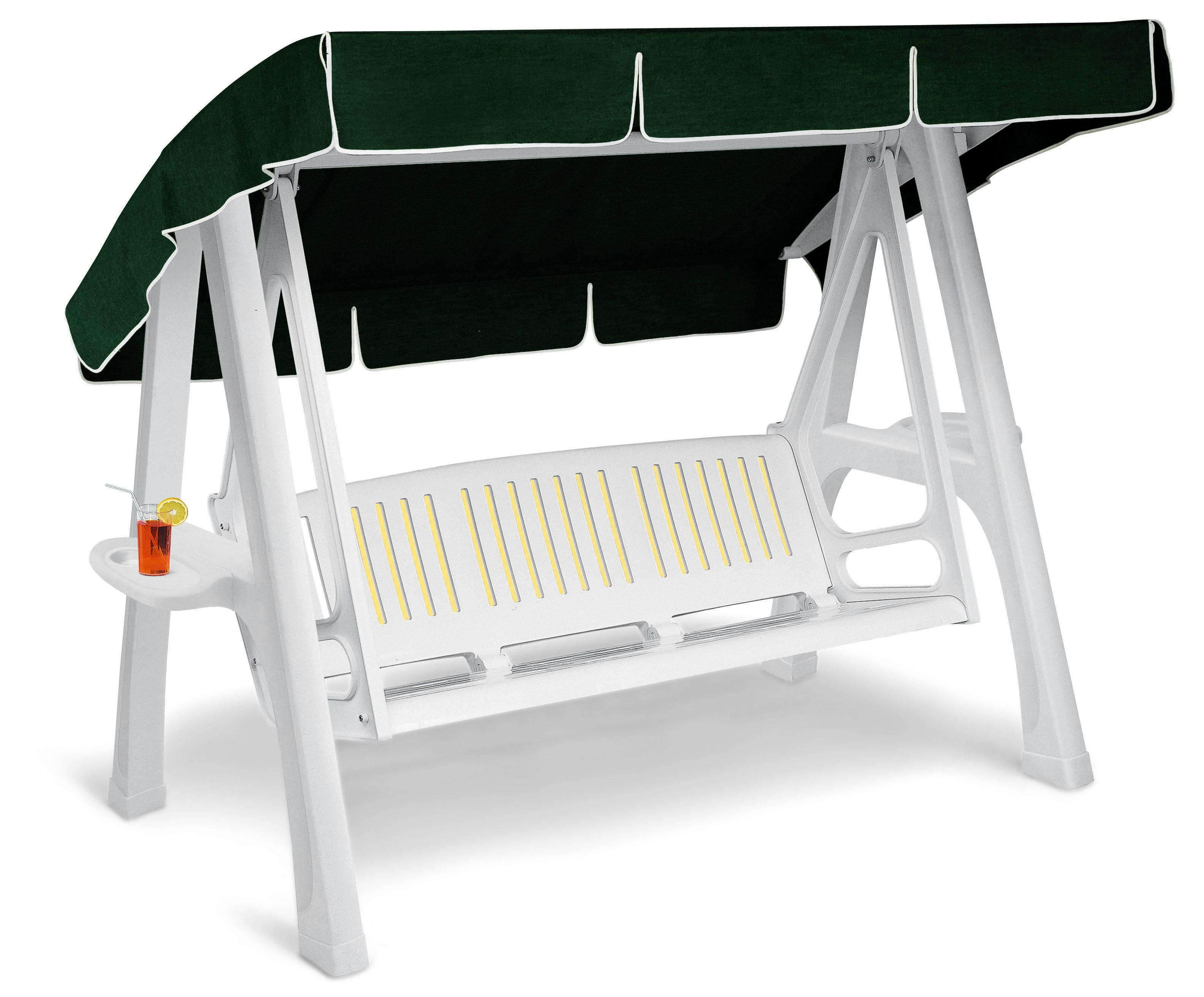 Dondolo resina scirocco 2000 lamacchia mobili da giardino - Dondolo da giardino 2 posti ...