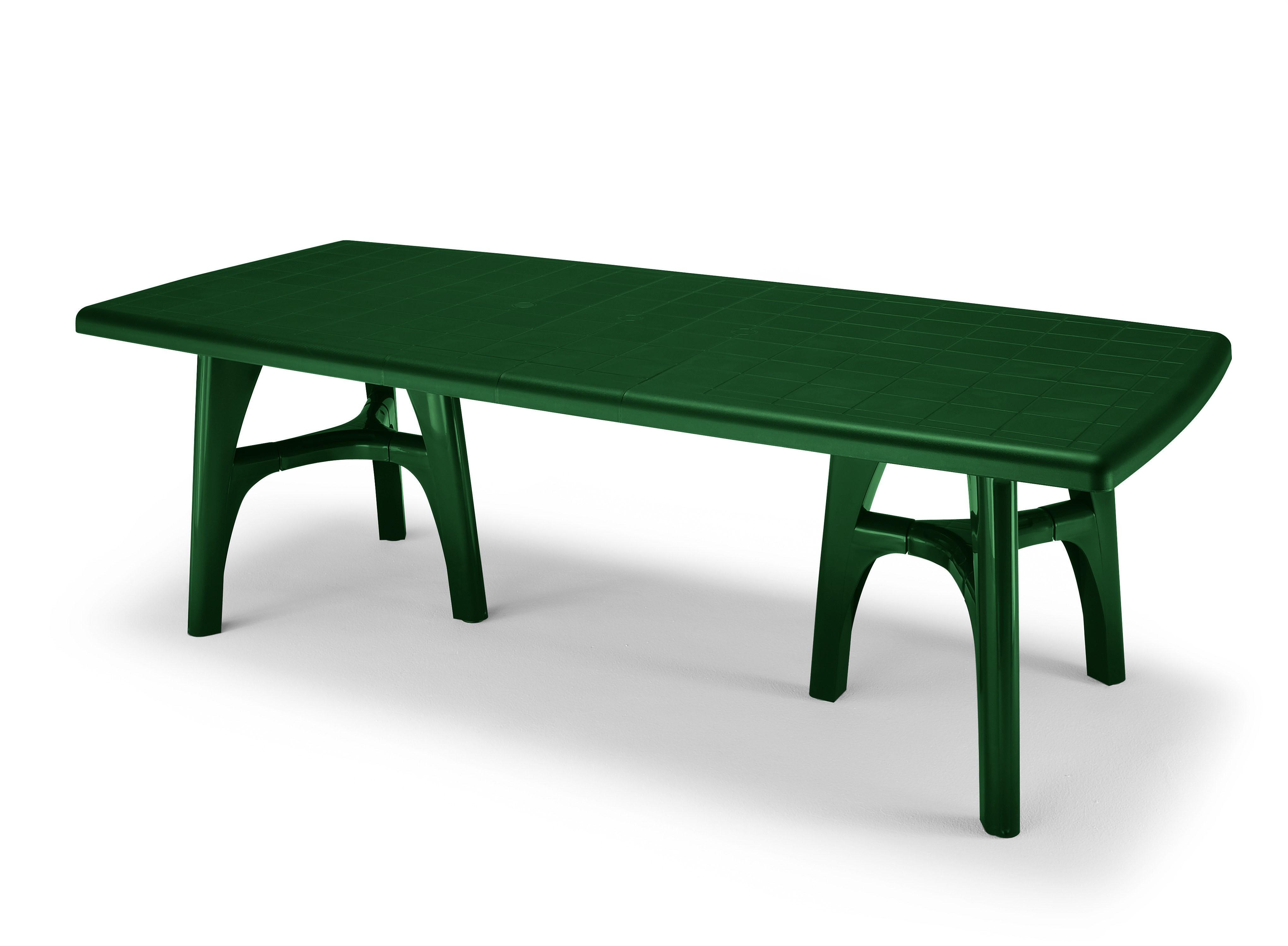 Tavolo Da Giardino Verde.Tavolo Tris Allungabile Colore Verde Bosco Lamacchia Mobili