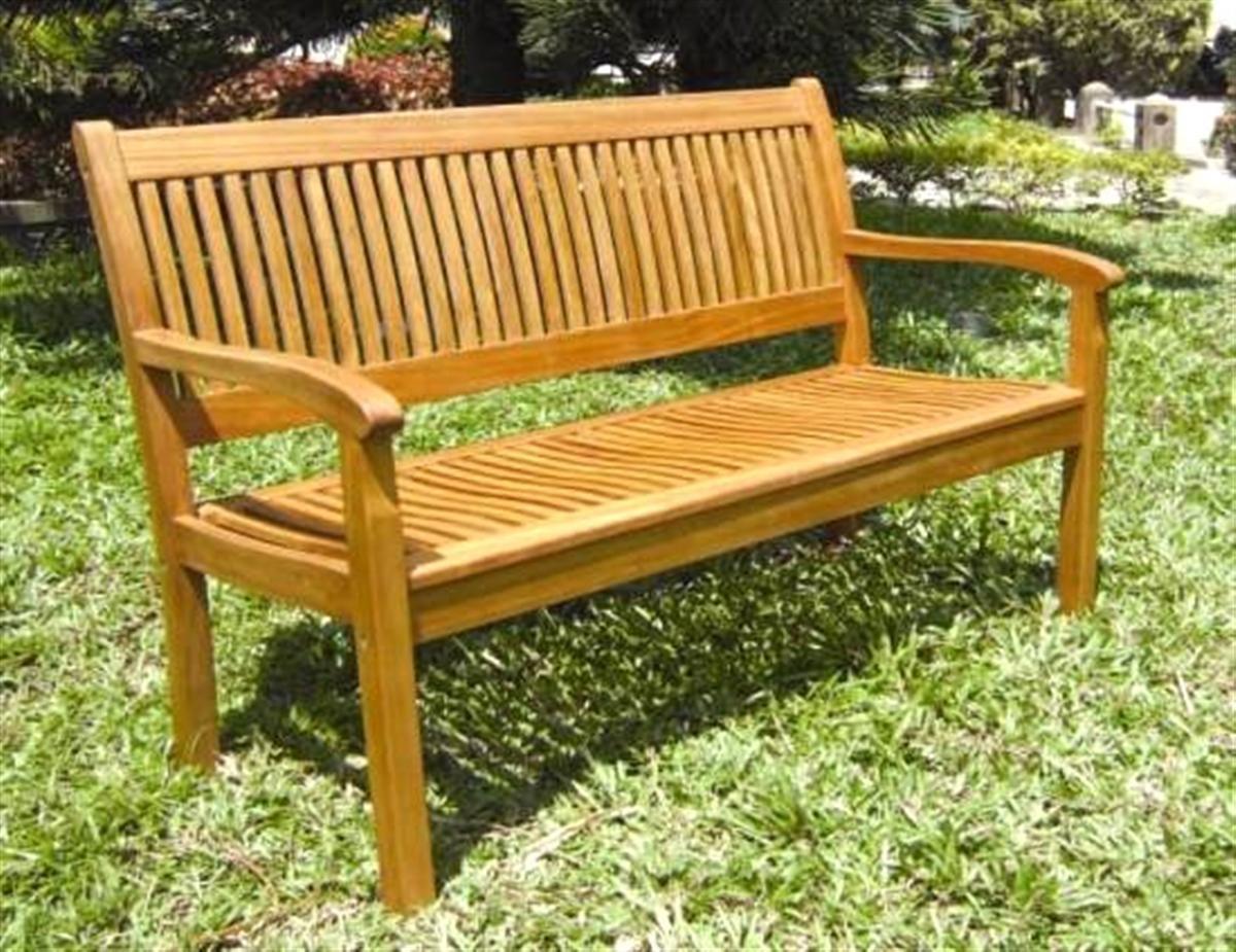 Panchina legno balau 2 posti lamacchia mobili da giardino for Mobili da giardino miglior prezzo