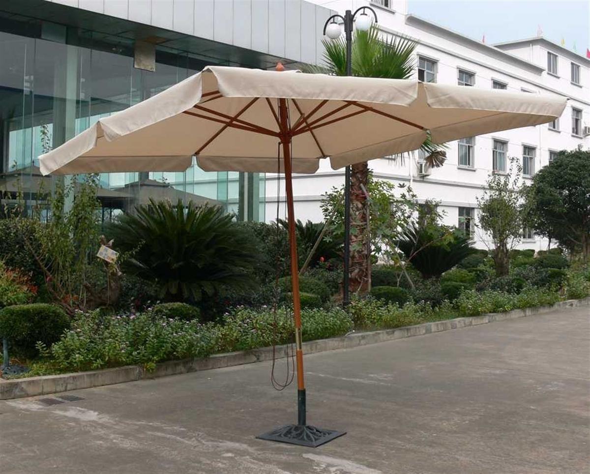 Ombrellone Da Giardino 3x2.Ombrellone Legno 3x2 Lux Lamacchia Mobili Da Giardino Riccione